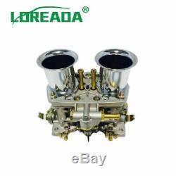 2x Carb Carburateur Moteur 2 Pour Barrel Weber 40 Idf Bug Volkswagen Beetle Fiat