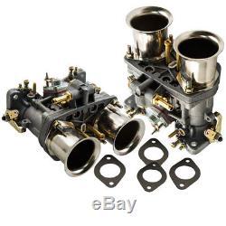 2x Carburateur 40idf Avec Air Horn Pour Bug / Beetle / Vwithfiat / Porsche Replece Weber