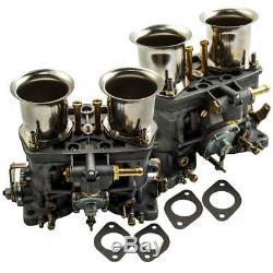40 Idf Double Carburateur Pour Vw Beetle Bug Fiat Porsche Avec Des Klaxons D'air Meilleurs Moulages