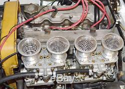 40 Idf Weber Vergaser 4 Ansaugtrichter Mit Gitter Z. B Fiat 124, 131
