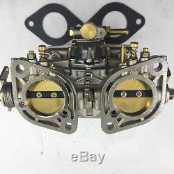 40idf Carburateur Chrome Alcool Pour Bug / Beetle / Vwithfiat / Porsche Pour Weber Fajs