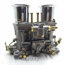 44idf Carburetor Avec Air Horn For Bug/beetle/vwithfiat/porsche Replece Weber Carb