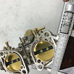 48idf Carburateur Alcool Chrome Bug / Beetle / Vwithfiat / Porsche Solex Weber Fajs