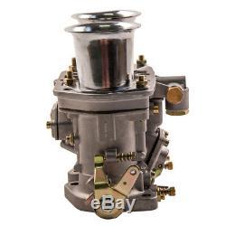 48idf Carburateur Pour Vw Beetle Bug Fiat Porsche Remplacement Avec Air Horn