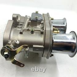 48idf Carburetor Chrome Alcool Pour Bug/beetle/vwithfiat/porsche Solex Weber Fajs