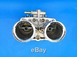 48idf Oem Carburateur + Air Cornes Remplacement Pour Solex Dellorto Weber Empi 48mm