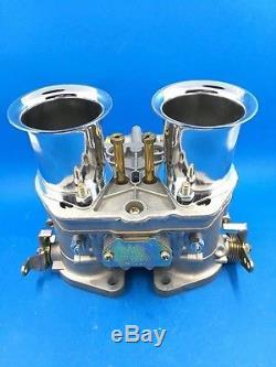 48idf Oem Carburateur + Cornes D'air De Remplacement Pour Solex Dellorto Weber Empi 48mm