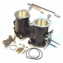 48mm Idf/drla Twin Throttle Body Injection + Rail De Carburant Weber/dellorto/solex