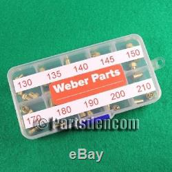 4 Jet Principal 130-150 4 Air 170 180 190 200 210 Carburateur Weber Dcoe Idf Ida