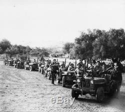 89e Tsahal Forces De Défense Israéliennes 1948 Beit Gurvin Op Yoav 6x5 Pouces Réimpression