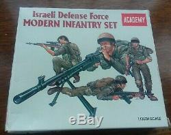Academy 1/35 # 1368 Forces De Défense Israéliennes D'infanterie Boîte Ouverte Pièces Détachées