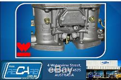 Adaptateur Holley 4 Barils Avec Kit De Carburateurs Weber Twin 44 Idf