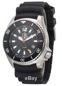 Adi Men's Millitary Watch 2850 Logo De La Force De Défense Israélienne Stainless Analog