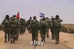 Adi Tactical/military Men's Watch 229 Logo Des Forces De Défense Israéliennes Fdi, Quartz