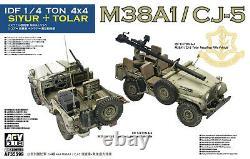 Afv Club 1/35 Af35s99 Idf 1/4 Ton 4x4 M38a1/cj-5 Siyur + Tolar
