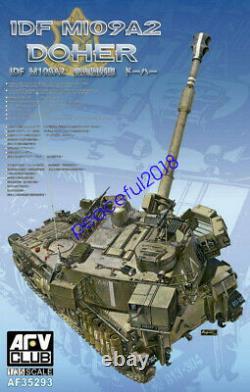 Afv Club Af35293 1/35 Idf M109a2 Doher Obusier Automoteur 155mm