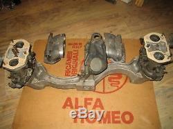 Alfasud, Alquati, Manifold / 2x, Dellorto, Drla, 40, Carburateurs / Moteur / Weber, Idf / 36