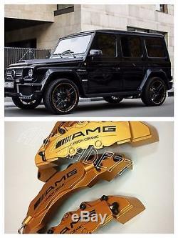 Amg Brake Ceramic Caliper Couvert 4pcs Pour Mercedes-benz Classe G, Gl, Ml, Cla, C, S, A