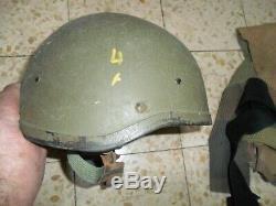 Armée Current Casque Israélien. Zahal Idf Made In Israël Rabintex Avec Net Et Bracelet