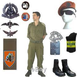 Armée Israélienne Armée Nationale Commandement Avant Coton Combat Fatigue Uniforme Ensemble Complet