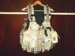 Armée Israélienne Commando Alpiniste Unité Sf Idf Tactical Vest Zahal. Fabriqué En Israël