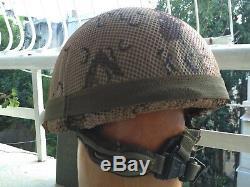 Armée Israélienne De Combat En Cevlar M 410 Olive