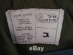 Armée Israélienne Vrai Soldat Militaire Israélien Veste Bombardier Liban 1987 Collier De Fourrure Zahal M