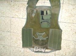 Armée Israélienne Zahal Golani Flak Vest Blouson De Protection Idf. Prix De Vente Bas