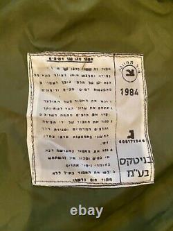 Aux Etats-unis ! Veste De Gilet De Tsahal De L'armée Israélienne 1984 En Parfait État