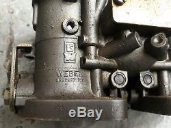 Bmw E21 E30 2002 M20 Vgs Triple Weber Idf Kit