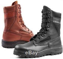 Bottes Commando Zahal Army De L'armée Israélienne Cuir-bottes De Travail