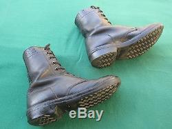 Bottes De Brigade Israel Idf Army Golani Avec Zahal Signs & Shoe Laces! Auth. Unique
