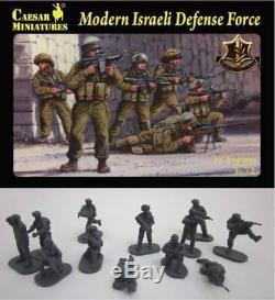 Caesar Miniatures 1/72 Moderne Forces De Défense Israéliennes 38 Toy Soldiers Gratuit Navire