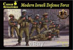Caesar Miniatures H057 Défense Moderne Israélienne Force 1/72 Figures Modèle Échelle