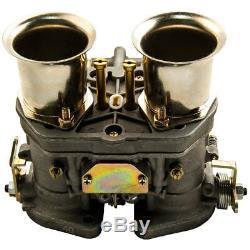 Carb40 Idf Vergaser Doppelvergaser Pour Vw Käfer Bug Coccinelle Fiat Porsche 912 356
