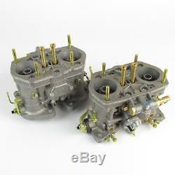 Carburants Weber 40idf Authentiques. X2 Projeté Pour Beetle Camper Refroidi Par Air Vw De 1600-1900cc