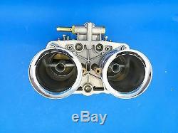 Carburateur 48idf W Carb De Cornes Pour L'air 48mm De Film Encreur Pour Solex Dellorto Weber Rmpe