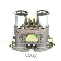 Carburateur Kit De Carbure 4 Barrel Holley Adaptateur Avec Twin 48 Fdi Pour Weber Empi