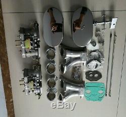 Carburateur Kit De Conversion De Glucides Pour Vw Type 1 Fajs Hpmx Weber Idf 44 Dual 44idf