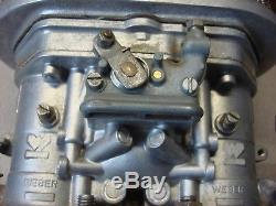 Carburateur Weber Idf 44 Dellorto Filtre À Air Vw Beetle Tubulure D'admission Vintage