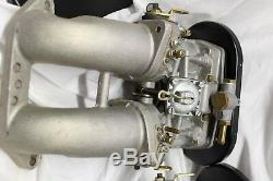 Carburateurs Doubles Weber Fabriqués En Italie 914 Porsche En Parfait État 40idf706m