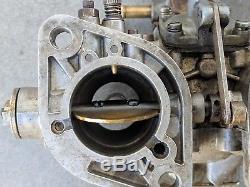 Carburateurs Weber 40 Idf, Italie, Pompe À Accouplement Cam Drive, Porsche 356 Vw