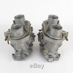 Carburateurs Weber 40 Idf Type 13 Et 15 Reconditionnés 1 Paire Pour Fiat 124 Sport