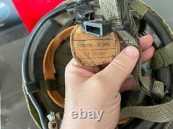 Casque De Combat D'infanterie Israélienne Idf Tzahal + Camouflage Net