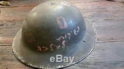 Casque Idf Des Années 40 Peut-être De 1948 Guerre Bisous Pour Milka 1943 Avec Doublure