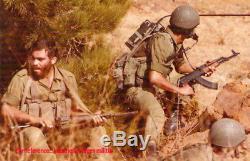Casque Israélien Vintage De La Première Génération Orlite M76 Des Années 1970 Idf Zahal