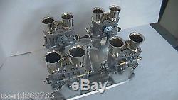 Chrysler Dodge Weber 44 Idf Manifold / Linkage 413, 426 Wedge, 440
