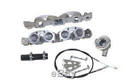 Classic Rover V8 Moteur Weber Idf Inlet Manifold & Kit De Tringlerie D'accélérateur