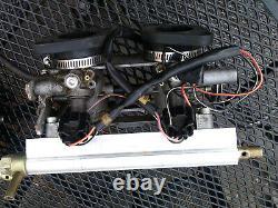 Classic Vw Beetle Injection De Carburant Twin Throttle Bodys Montage De Motif Fdi