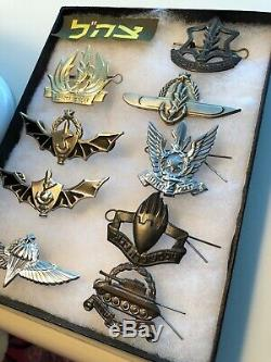 Collection D'insignes De La Force De Défense Israélienne